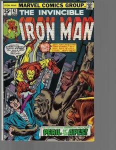 Iron Man #82 (Marvel, 1976) 1st Michael O'Brien