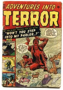 ADVENTURES INTO TERROR #44 pre-code 1951-atlas-horror-Russ Heath