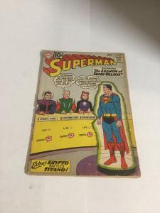Superman 147 Gd Good 2.0 Cover Detached First Legion Of Super Villains DC SA