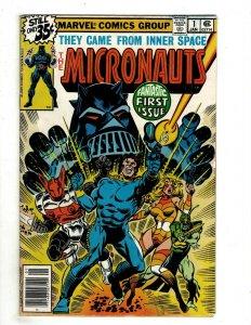 12 The Micronauts Marvel Comics # 1 2 3 4 5 6 7 8 910 11 12 Inner Space J507