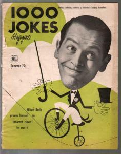 1000 Jokes #51 Summer 1949-Milton Berle-Red Skelton-jokes-cartoons-gags-VG