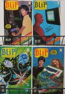 BLIP 1-4 80'S classic Video Games meet Comics