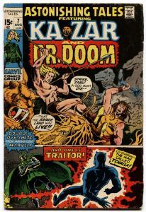 ASTONISHING TALES #7-DR. DOOM-KA-ZAR-MARVEL