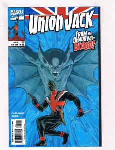 Union Jack # 2 VF/NM Marvel Comic Books From The Shadows Blood Avengers WOW! SW8