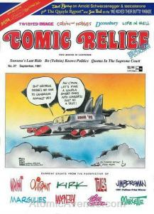 Comic Relief (magazine) #27 FN; Page One | save on shipping - details inside