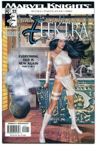 ELEKTRA #22, NM, Greg Horn, Martial Arts, Femme Fatale, 2001,more items in store