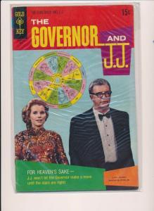 The Governor & J.J. #2, Gold Key Comics, 1970 ~ VG/FN- (HX493)