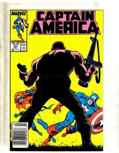 12 Captain America Comics #331 333 334 337 338 339 339 340 341 342 343 344 J412