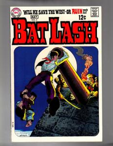 BATLASH 4 VERY FINE  May 1969 Nick Cardy classic Wester