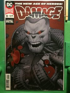 Damage #10 New DC Universe metallic cover
