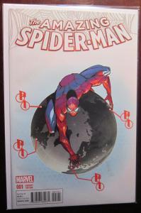 Amazing Spider-Man (2015 4th Series) #1G, 8.5/VF+
