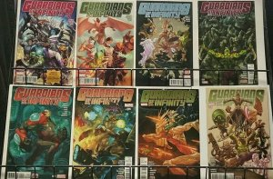 GUARDIANS OF INFINITY (Marvel, 2015) #1-8 COMPLETE!  VF-NM Abnett/Barberi
