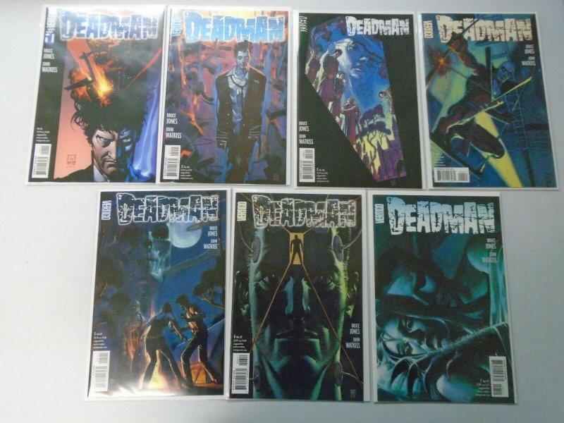 Deadman run #1-7 avg 8.0 VF (2006-07 Vertigo 4th Series)