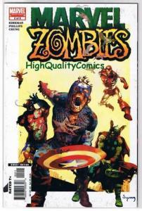 MARVEL ZOMBIES #2, VF/NM, Kirkman, 1st, Spider-man, Suydam, Capt American, 2006