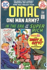 OMAC 2 F-VF Dec. 1974 COMICS BOOK