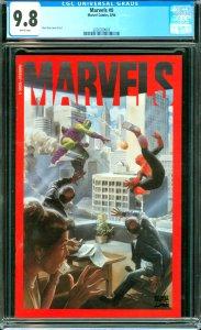 Marvels #0 CGC 9.8