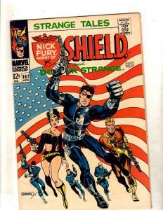 Strange Tales # 167 VF/NM Marvel Comic Book Dr Strange Nick Fury Shield JF11
