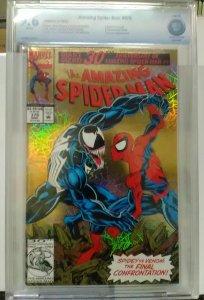 Amazing Spider-Man 375 CBCS 9.6 GOLD FOIL VENOM NM/ BRIDE OF VENOM