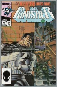 PUNISHER (1986) 2 FN+  Feb. 1986