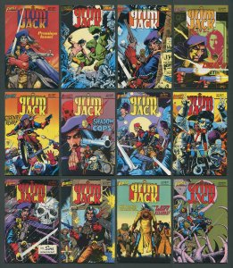 Grim Jack  #1  - #12 (Complete Set of 12 Issues) / VFN  1984