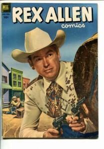 REX ALLEN #7-1953-WESTERN-PHOTO COVERS-vg+