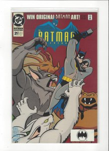 Batman Adventures #21 Catwoman Manbat NM