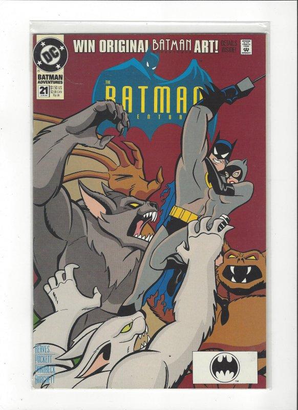 Batman Adventures #21 Catwoman Manbat NM