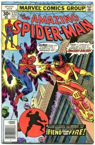 AMAZING SPIDER-MAN #172-MARVEL COMICS-ROCKET RACER ---FN