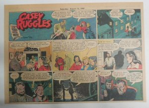 Casey Ruggles Sunday #13 by Warren Tufts from 8/14/1949 Half Page Size ! Year #1