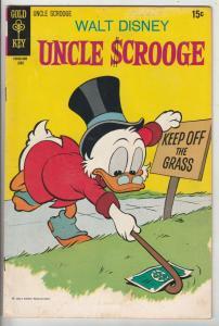 Uncle Scrooge, Walt Disney #87 (Jun-70) VG/FN+ Mid-Grade Uncle Scrooge