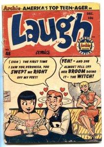 Laugh #48 1951-Archie-ice cream cover-Katy Keene- G-