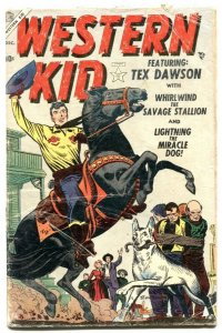 Western Kid #1 1954-Atlas comics- Tex Dawson intro G