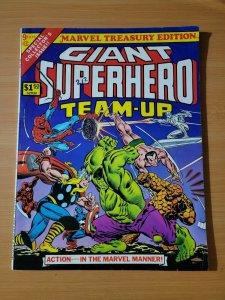 Marvel Treasury Edition #9 Giant Superhero Team-Up ~ VF - NEAR MINT NM ~ 1976