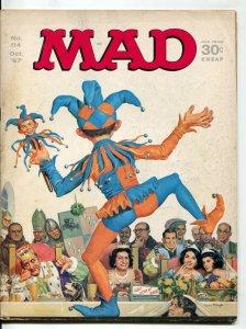 MAD Magazine #113 1967-Mingo-Martin-Drucker-Woodbridge-LBJ-FN