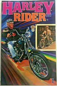 HARLEY RIDER#1  VF 1988 HARLEY DAVIDSON COMICS