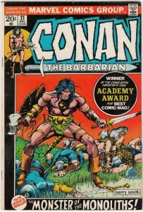 Conan the Barbarian 21 strict VF- 8.0  High-Grade  ~~pay 1st shipping fee!!