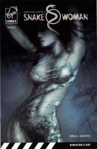 Snake Woman #1 VF; Virgin   save on shipping - details inside