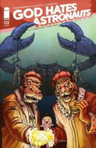 God Hates Astronauts (2nd Series) #3B VF/NM; Image | save on shipping - details