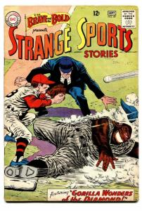 BRAVE AND THE BOLD #49 1963-STRANGE SPORTS STORIES-DC VG/FN