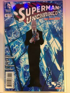 Superman Unchained #4 (2013) NM Snyder Lee Wraith Battle DC Comics