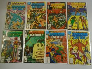 Doom Patrol lot 42 different from #1-49 +Annual avg 8.5 VF+ (1987-91 2nd Series)