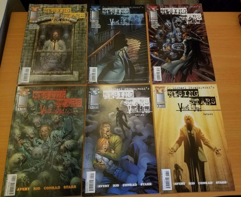 Rising Stars: Voices of the Dead 1-6 Complete Set Run! ~ NEAR MINT NM ~ 2005