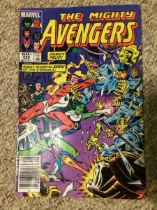 The Mighty Avengers #246 Family Feud! Sersi of the Eternals! VF 1984 Marvel