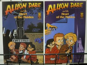 ALISON DARE & THE HEART OF MAIDEN (2002 ONI) 1-2