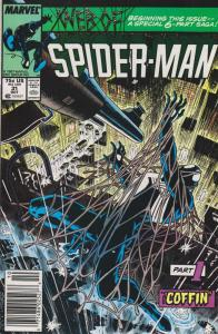 Web of Spider-Man, The #31 (Newsstand) FN; Marvel | save on shipping - details i