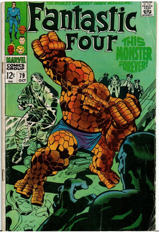 Fantastic Four #79, 3.0 or Better
