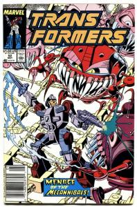 TRANSFORMERS #52-1989-later issue-marvel