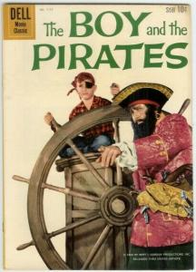 BOY & THE PIRATES (1960 DELL) F.C.1117 VG-F Charles Her