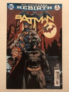 Batman Rebirth 1 Near Mint King Finch 1st Gotham And Gotham Girl