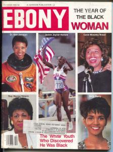 Ebony 10/1992-Year of The Black Woman-Halle Berry-Dr Mae Jemison-FN